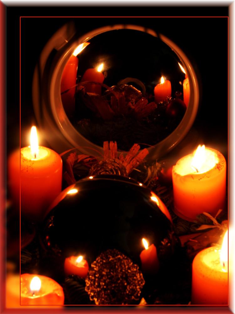 4. Advent - gekugelt und gespiegelt!!