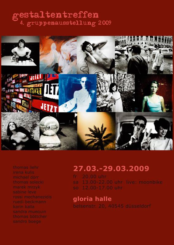4. gestaltentreffen Gruppenausstellung 2009