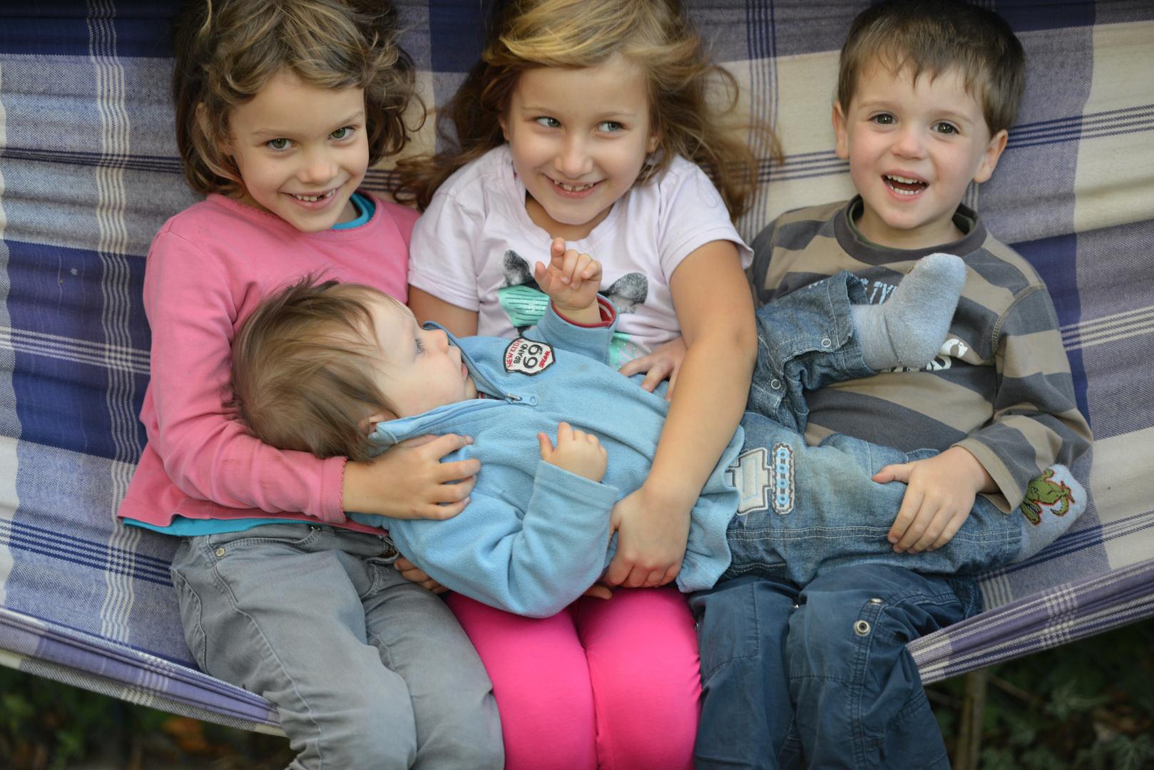 4 Kinder