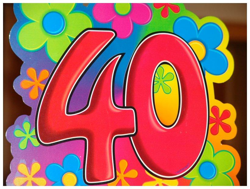 40 Geburtstag Bilder