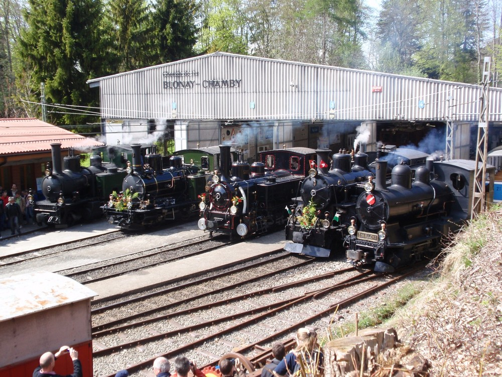 40 Jahre Museumsbahn Blonay-Chamby