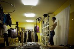 40% nackt im Fotostudio :-)