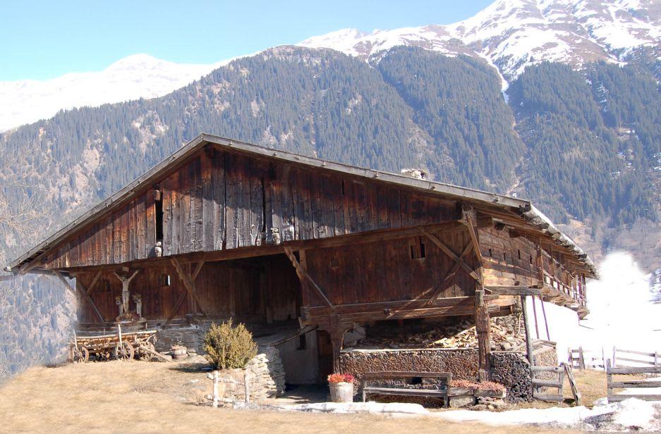 400 Jahre altes Bauernaus Front