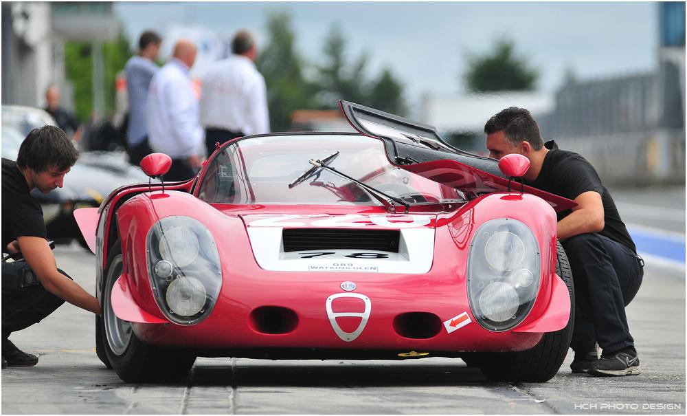 41. AvD-OGP 2013 / Alfa Romeo Tipo 33/2