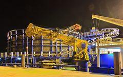 4600 Tonnen Kabel
