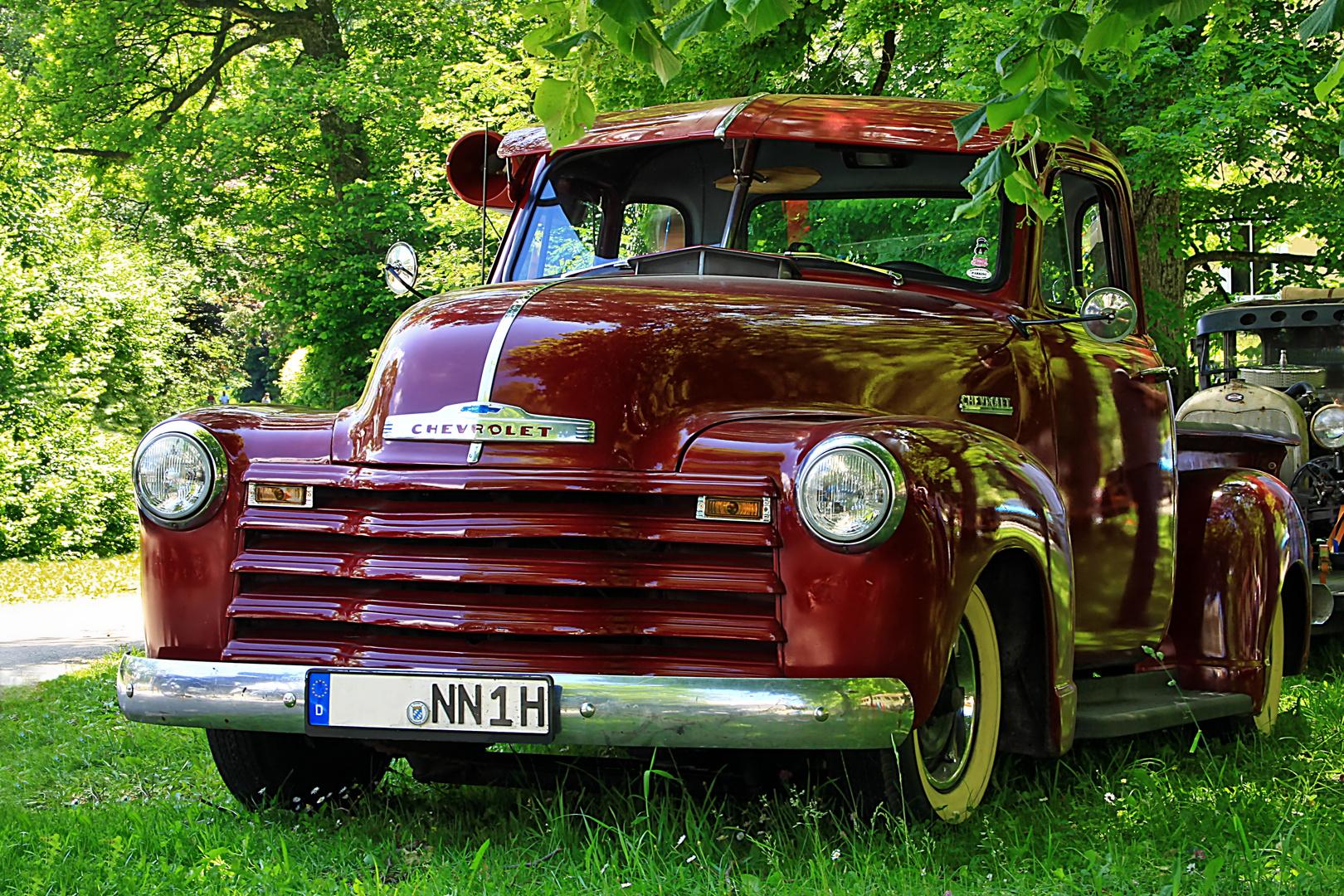 `48 Chevy Pickup im Grünen