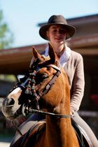 4.platz :) Working Equitation Tunier !
