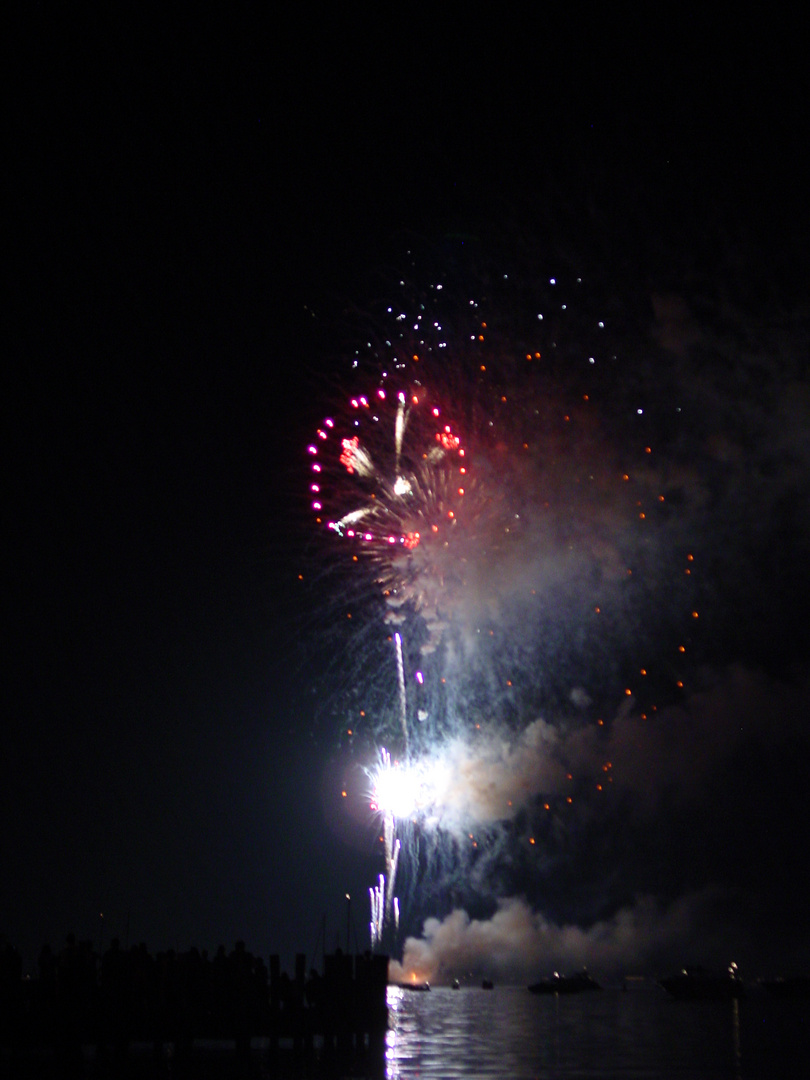 4th of July Fireworks on Lake Minnetonka, Minnesota