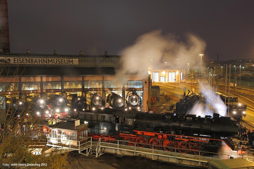 5. Dresdner Dampfloktreffen, 50 3708, 05.04.2013