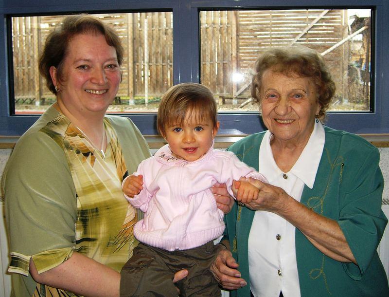 5 Generationentreffen zum 93´ten Geburtstag