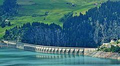 50 ans du barrage de roselend