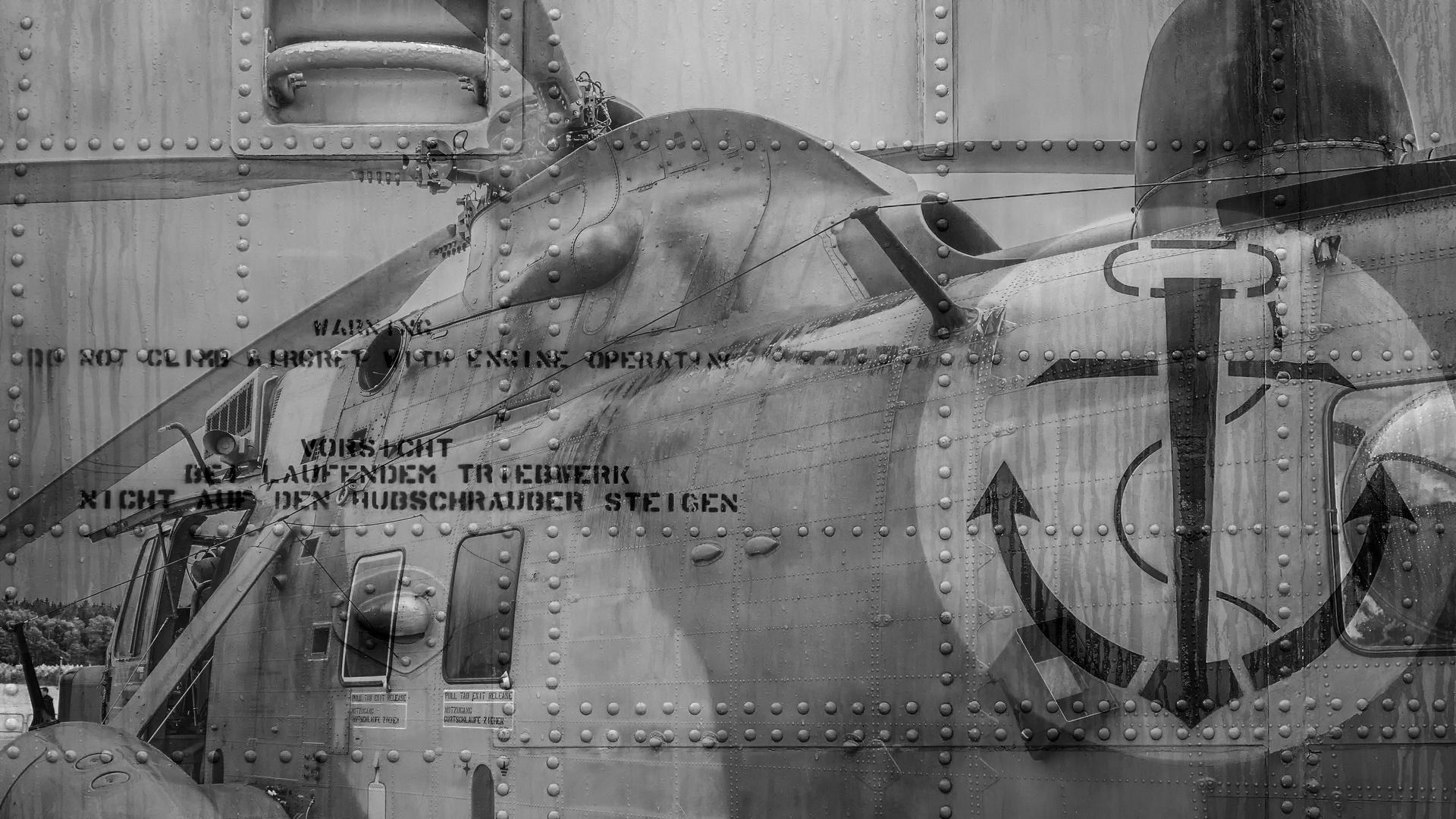 50 Jahre Bundespolizei Fuhlendorf - Transporthubschrauber der BW