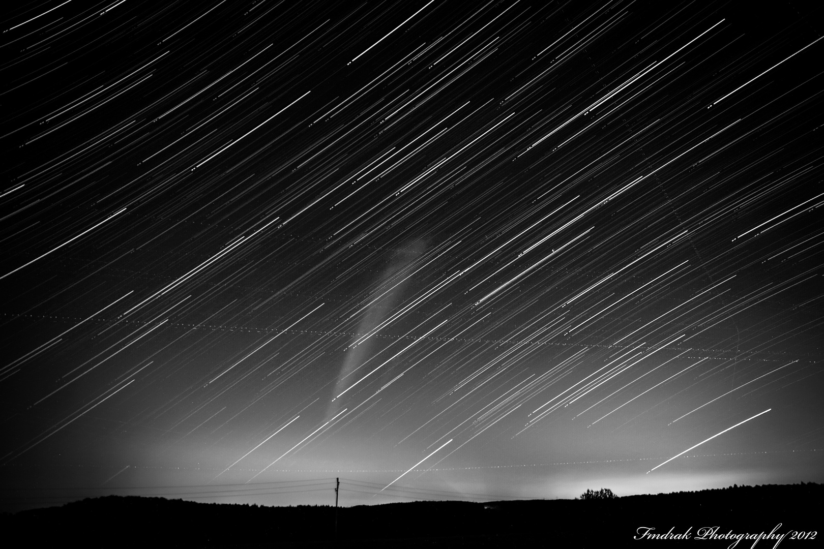 50 Minutes of Startrails