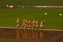 5000m im Regen