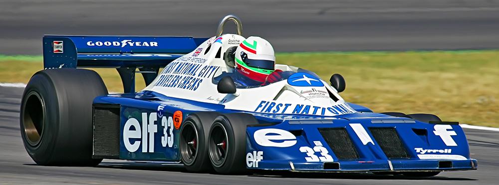6 Rad Tyrrell - ex Petterson/Depailler - Hockenheim 2007