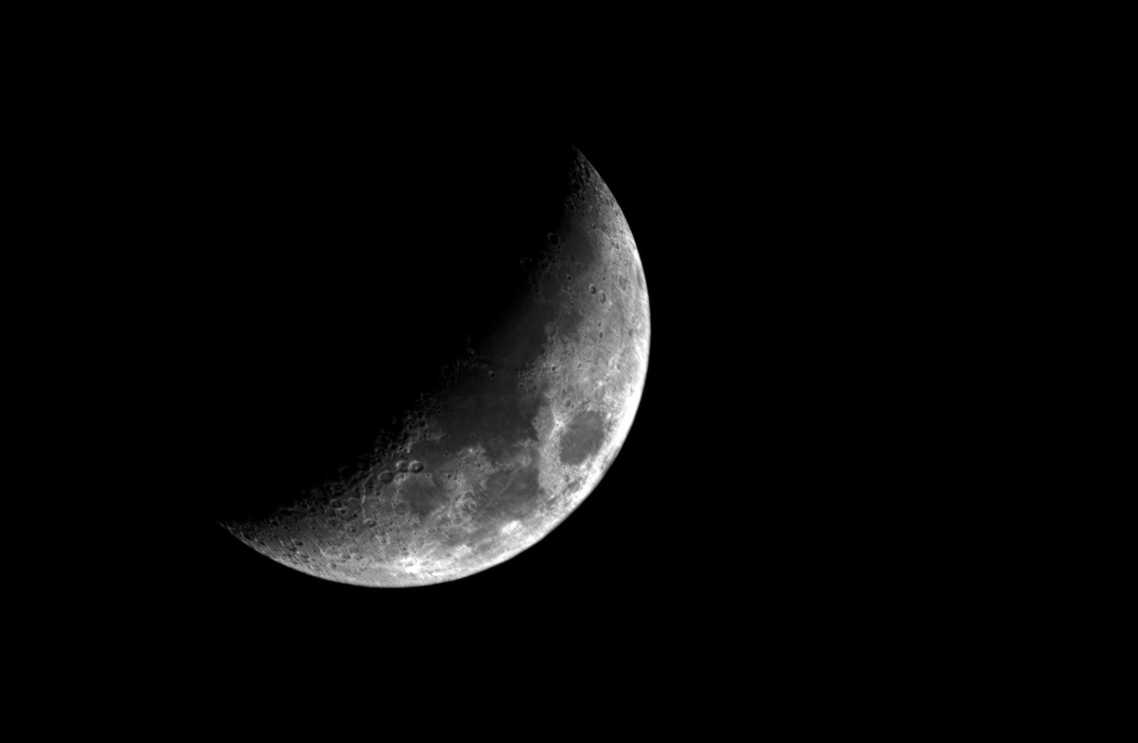 6-Tage-Mond vom 01.01.2020