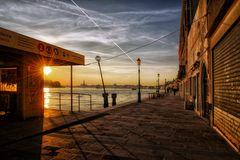 6 Uhr früh auf Giudecca