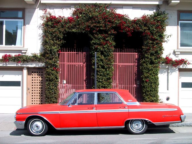 60's Car in San Francisco
