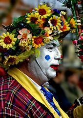 634   clown fleuri