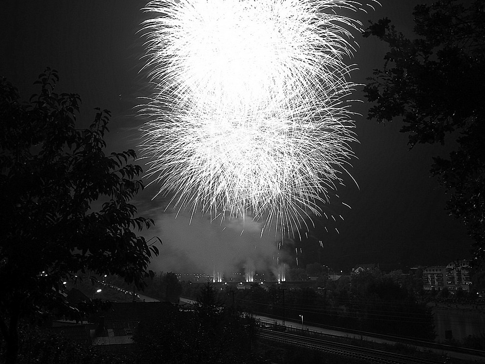 65  Feuerwerk S/W