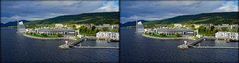 Norwegen Molde  (3D-X-View) von 3D-Wolfgang