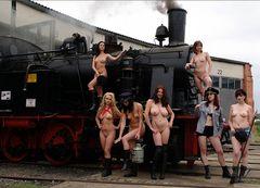 7 Mädels unter Dampf