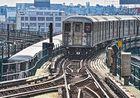 7 Train Begegnung Queensboro Plaza