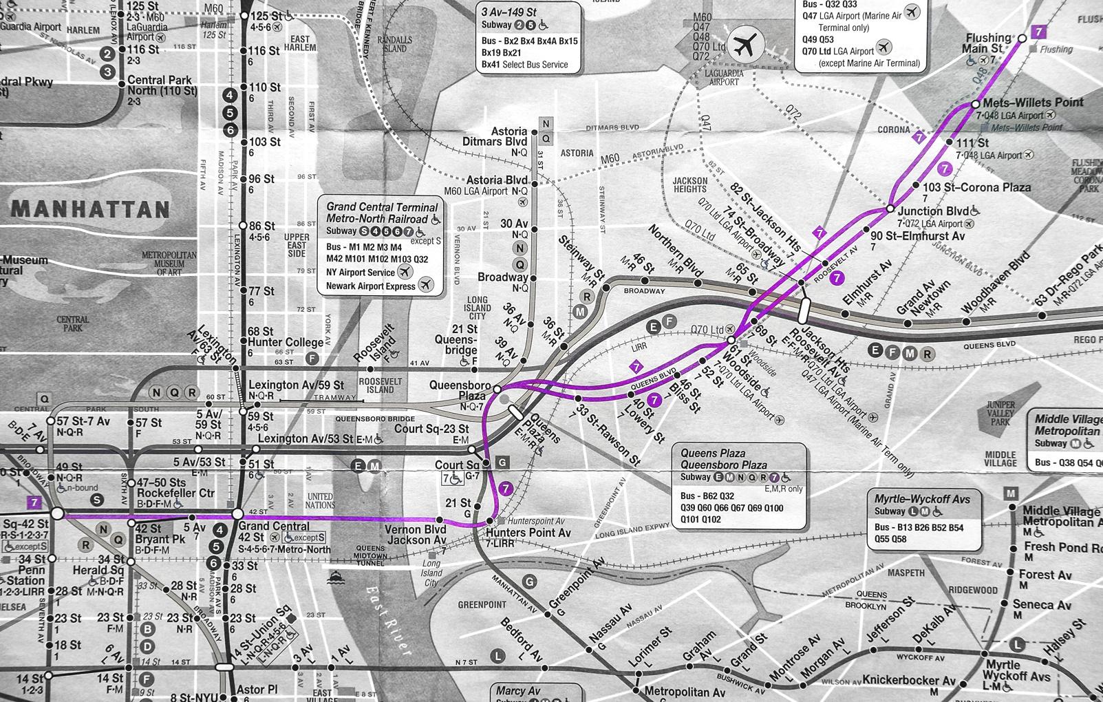Train Map on