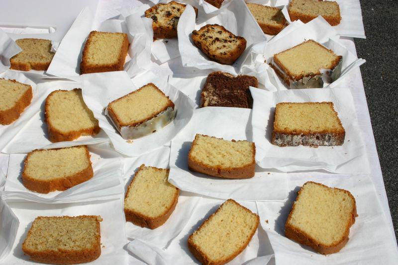 7000 kostenlose Kuchen WJT 2005 in Köln
