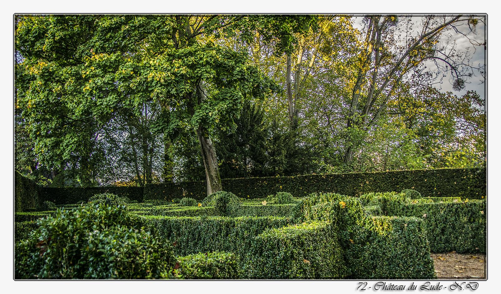 72 - Château du Lude - Le labyrinthe