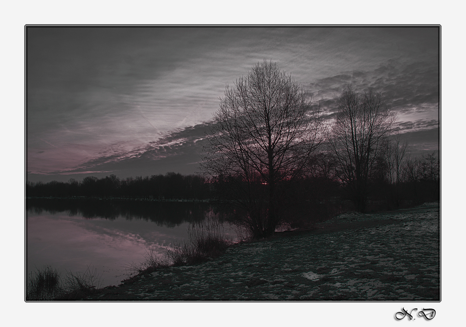 72 - Lac de la Gémerie un soir !
