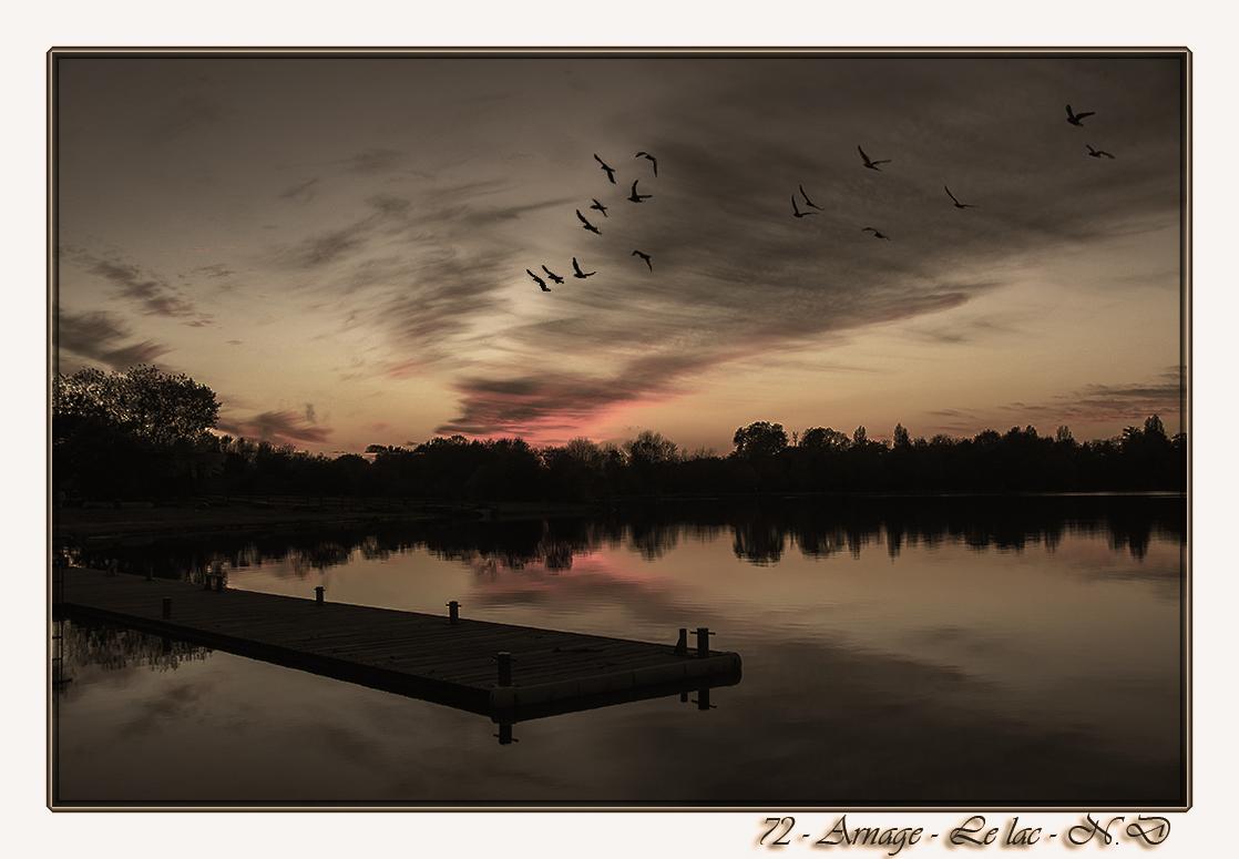 72 - Le lac de la Gémerie