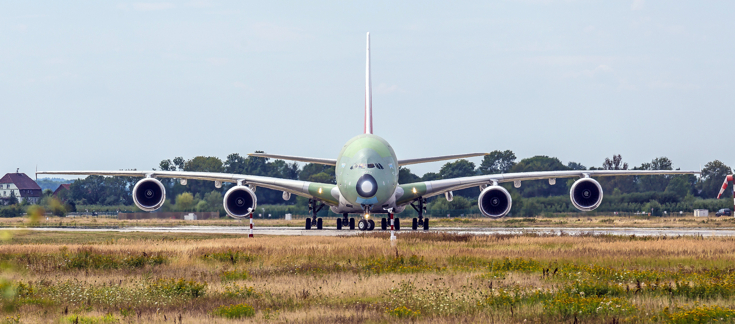 73 Meter Flügelspannweite, Wow