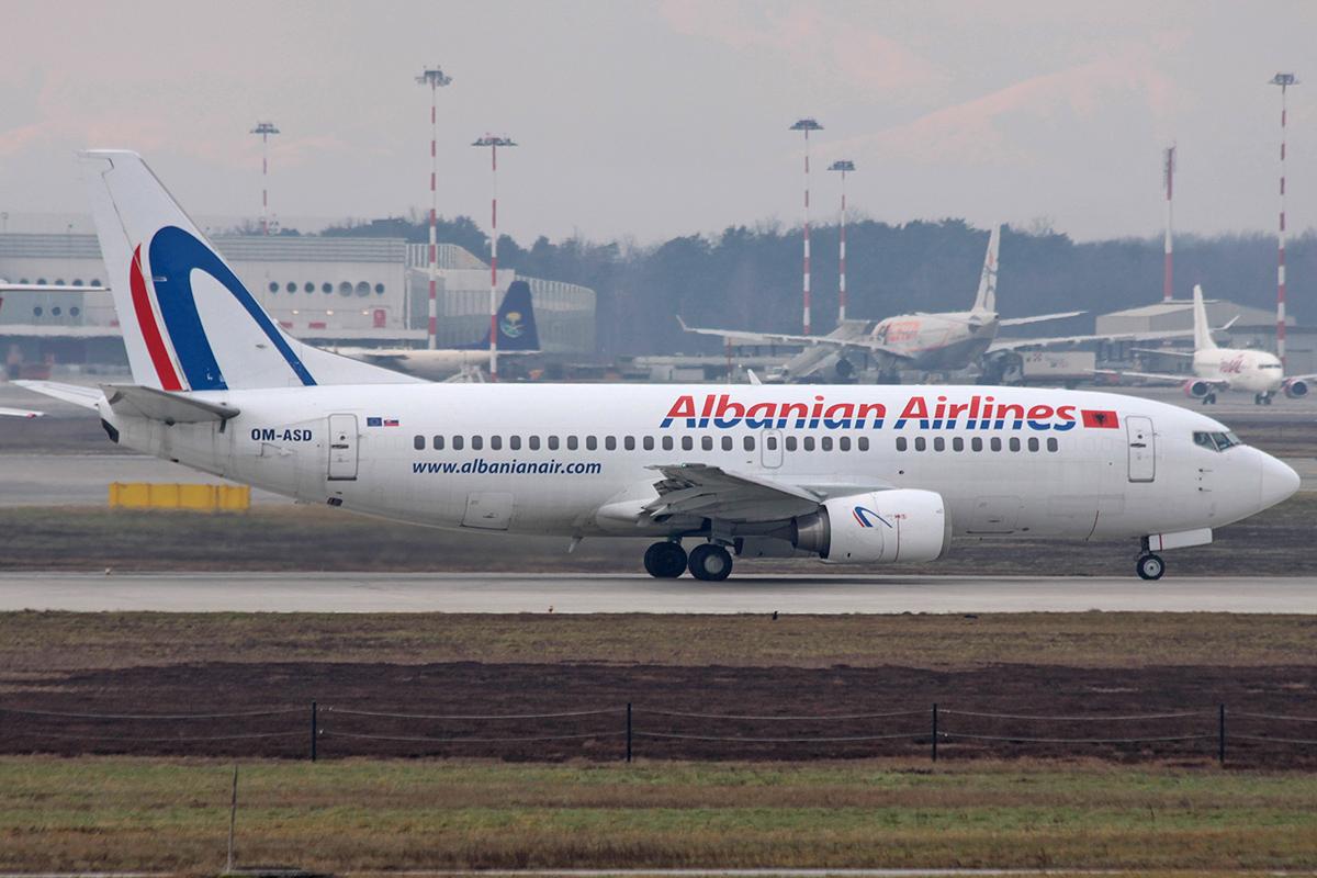 737-300 Albanian Airlines OM-ASD