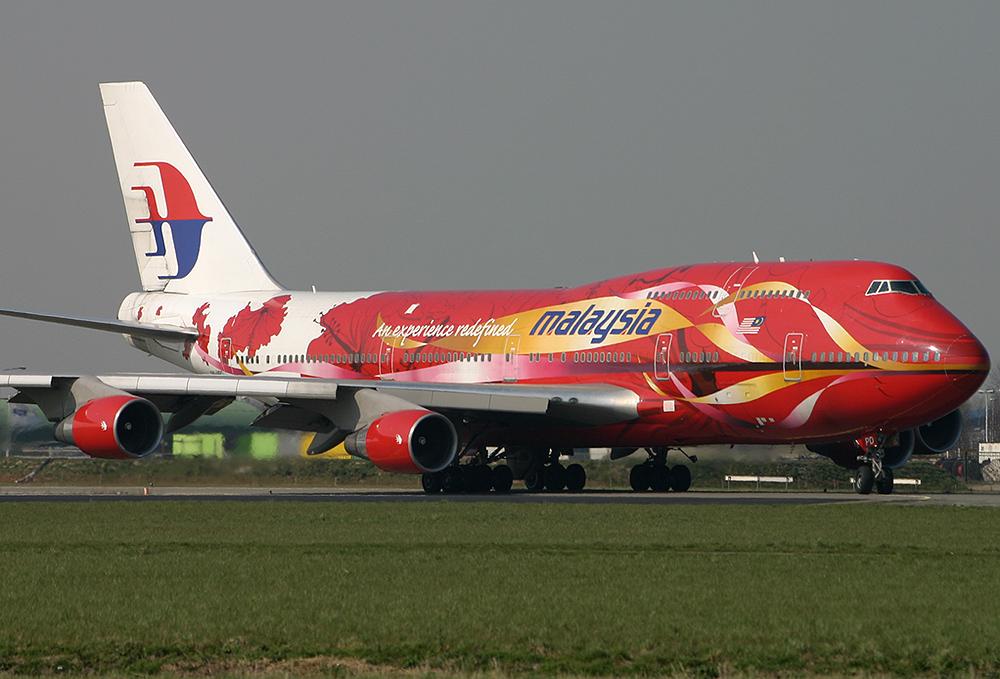 747-400 Malaysia 9M-MPD Hibiscus