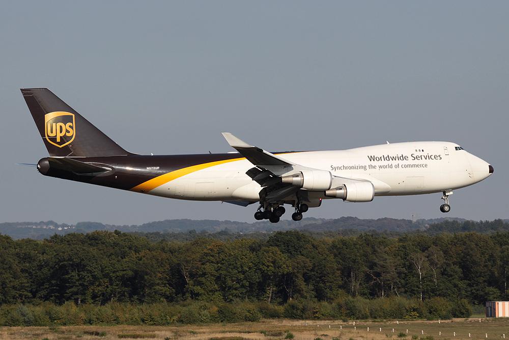 747-400 UPS N572UP immer wieder sonntags...²