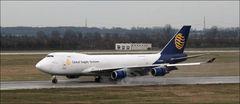 747-400F in Düsseldorf