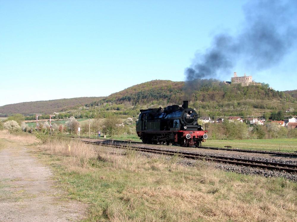 78 468 in Elfertshausen beim Umsetzen