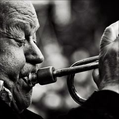 78 Jahre und 3 Promille Jazz im Blut.