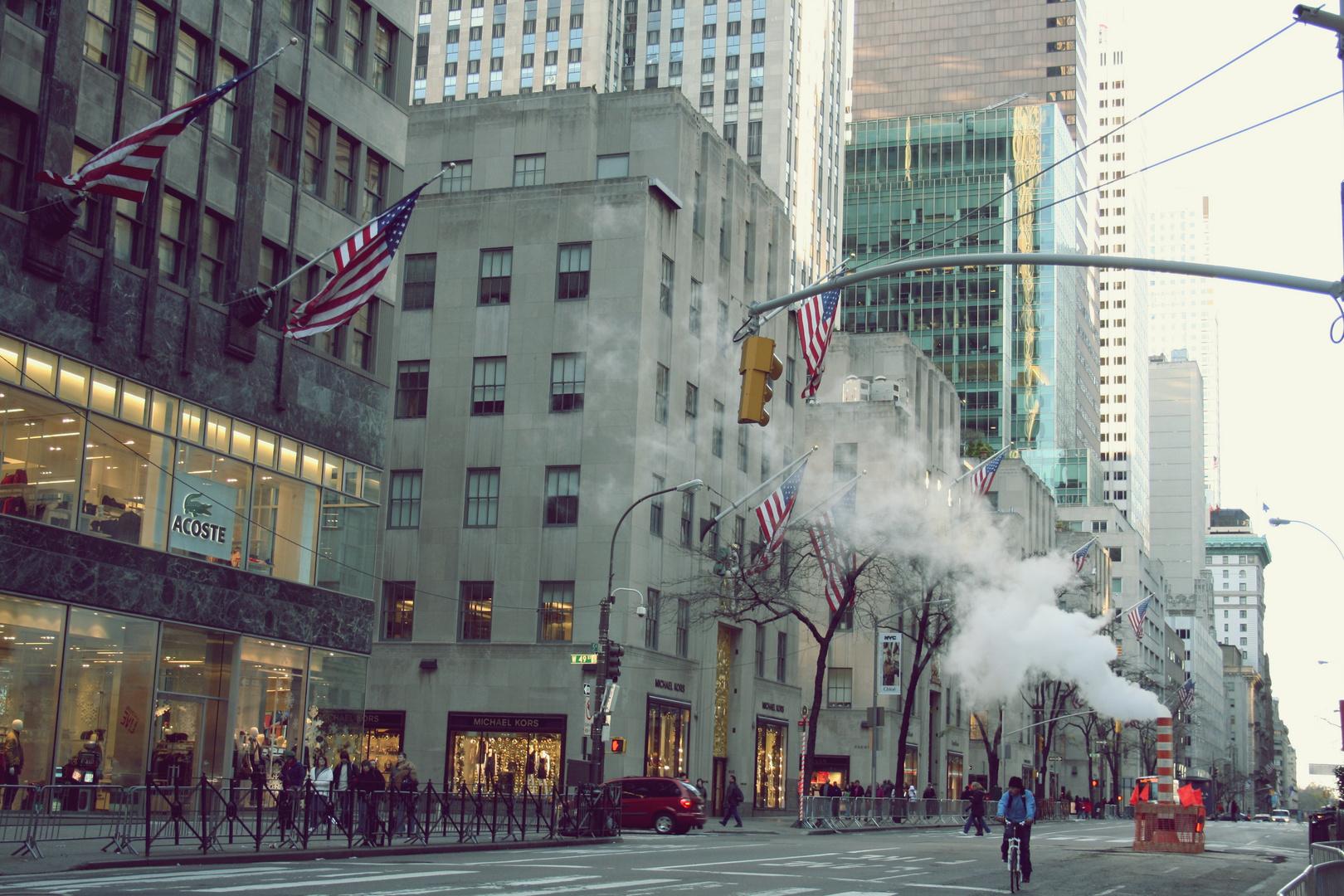8 Uhr morgens, New York City