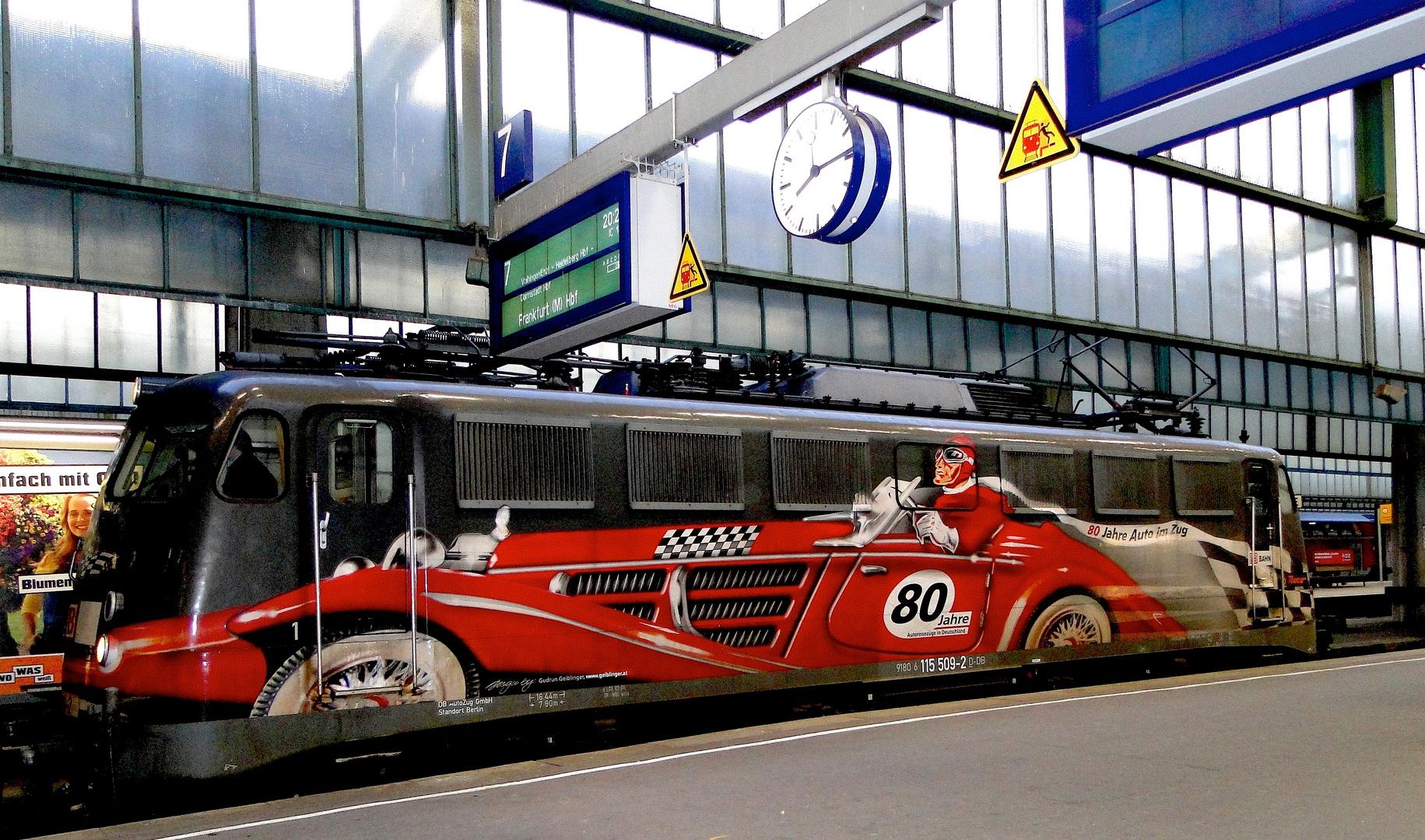 80 Jahre Autoreisezüge in Deutschland...