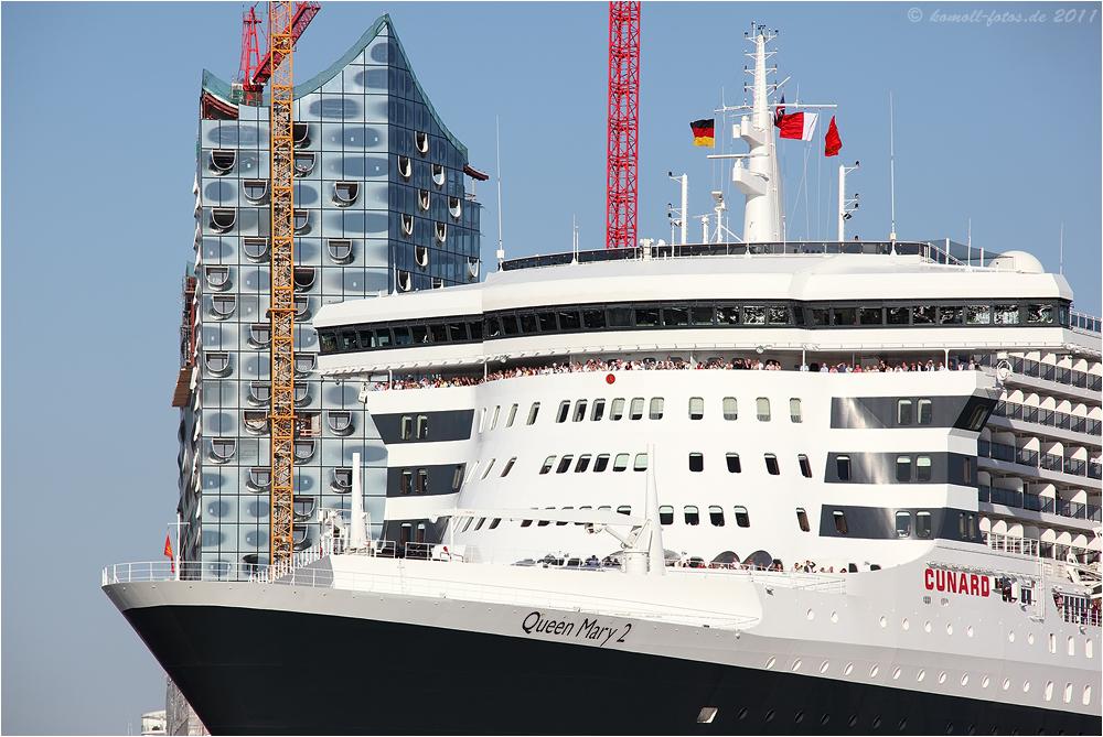 822. Hafengeburtstag Hamburg QM2 und