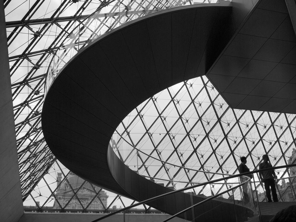 Pyramide du Louvre de jclb