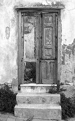 8.Poggioreale Vecchia - Porta di abitazione - Per non dimenticare