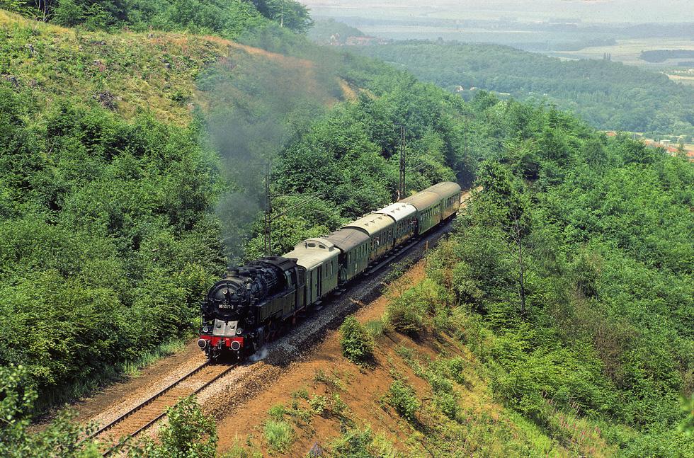 95 1027 auf der Rübelandbahn 1983