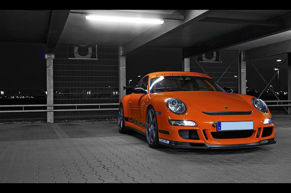 997 GT3 RS Parkhaus sw
