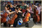 street orchestra at newcastle central station 13 by markkeville