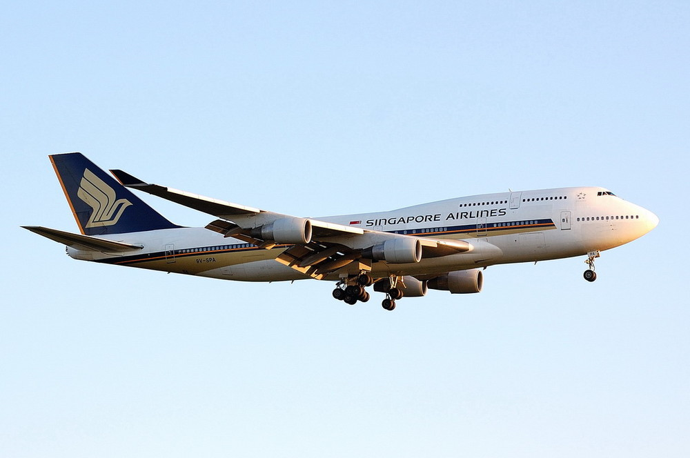9V-SPA / Singapore Airlines / Boeing 747