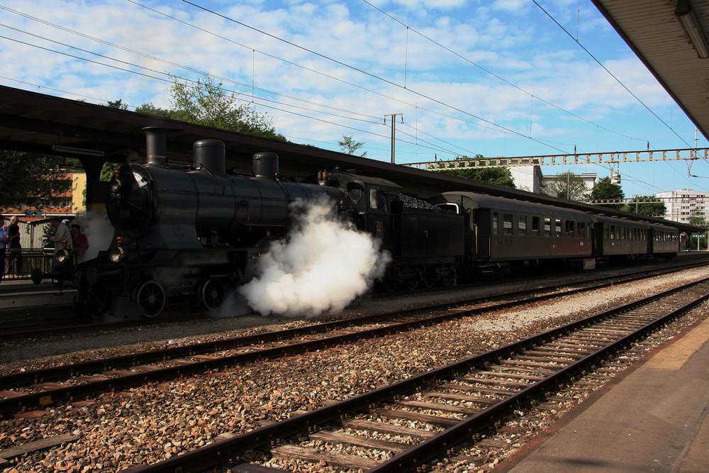 A 3/5 705 im Bahnhof Kloten