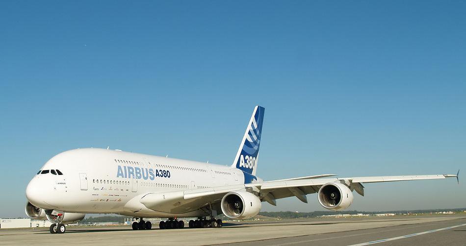 A 380 erster Passagierflug